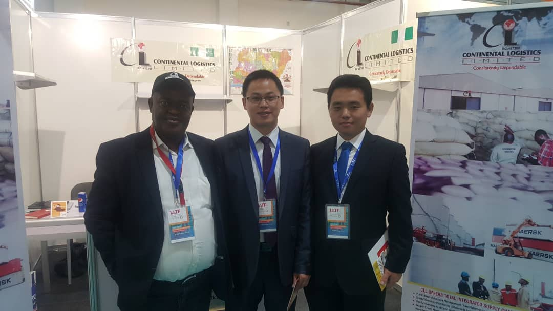 Continental Logistics Limited MD and China Delegates at AITF